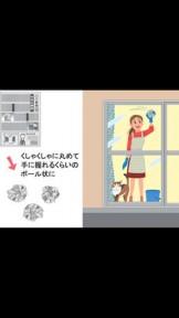 窓ガラスの掃除