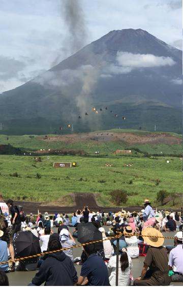 富士山型の弾砲